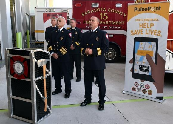 Public PulsePoint launch event in Sarasota County FL.