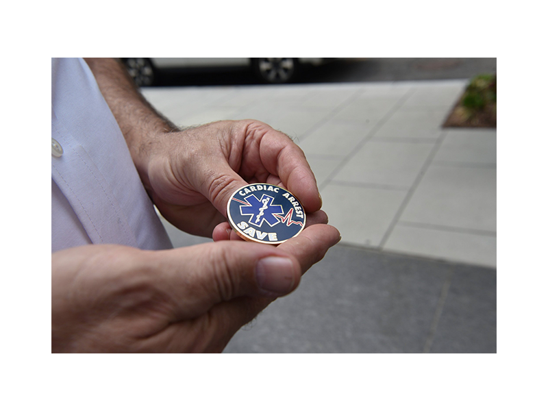 PulsePoint DCFEMS Challenge Coin.