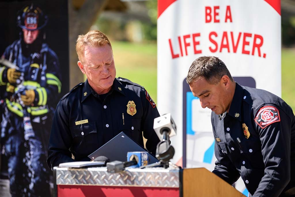 PulsePoint survivor recognition event in Livermore CA.