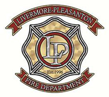 Livermore Pleasanton Fire Department logo.