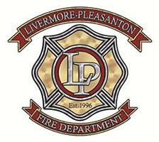 Livermore Pleasanton Fire Department logo.