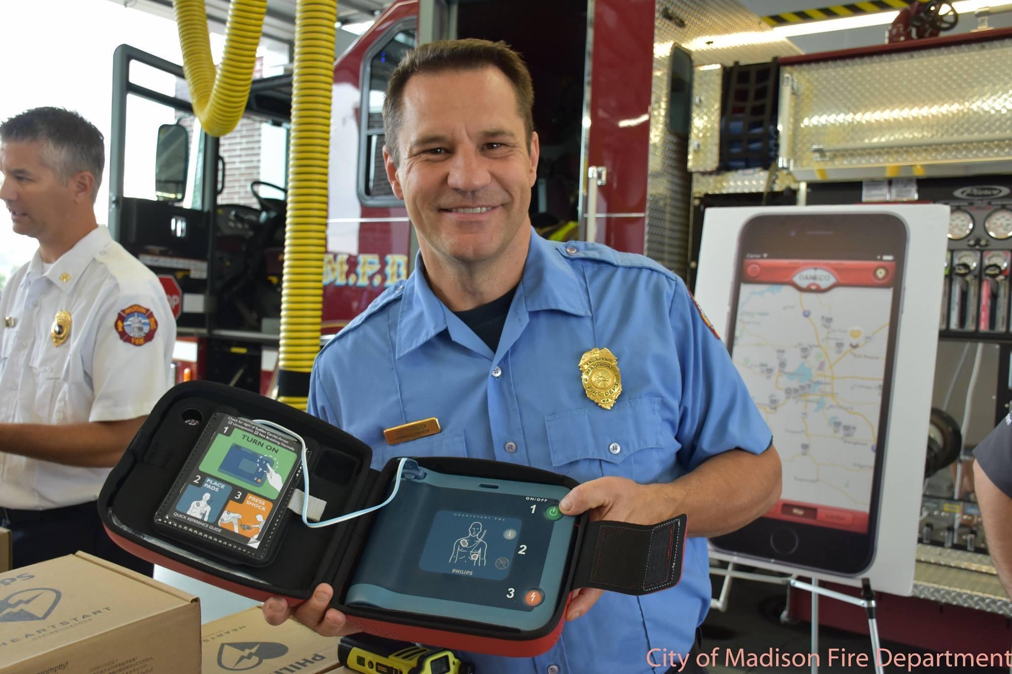 Madison Firefighter