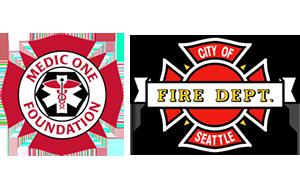 Medic One Seattle FD Logos.