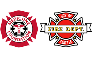 Medic One Seattle FD Logos.