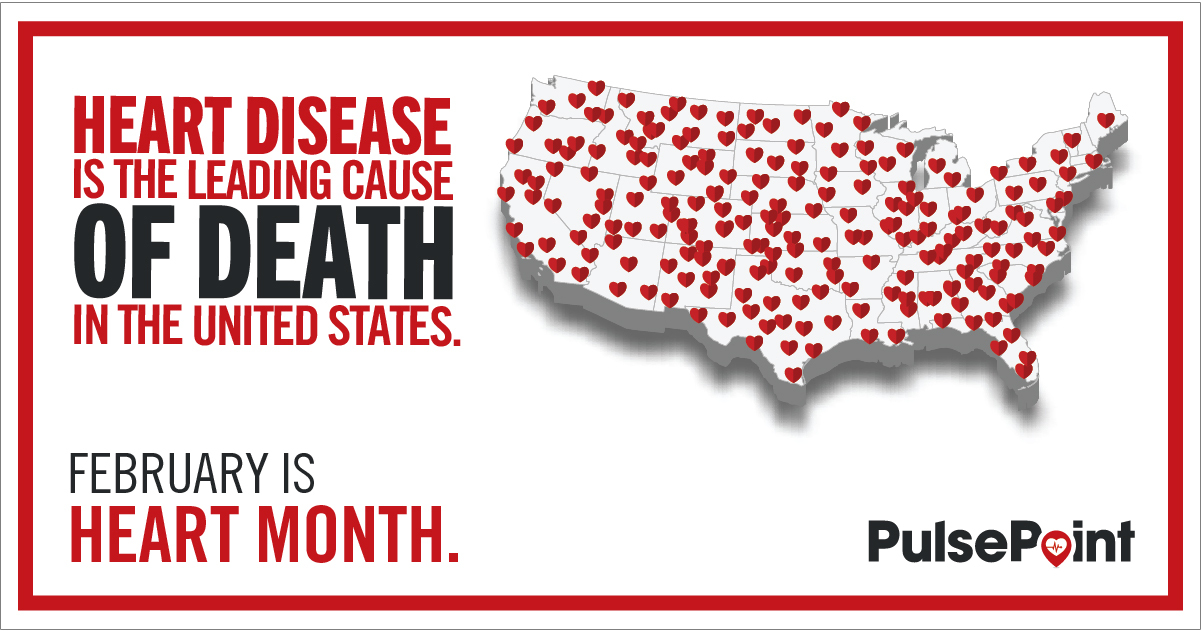 PulsePoint Heart Month Toolkit Social Image