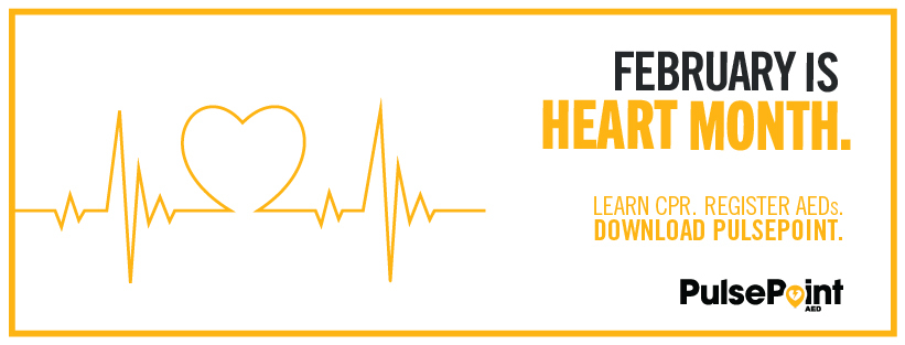 Image of Pulse Point Heart Month Toolkit Email Facebook Header AED