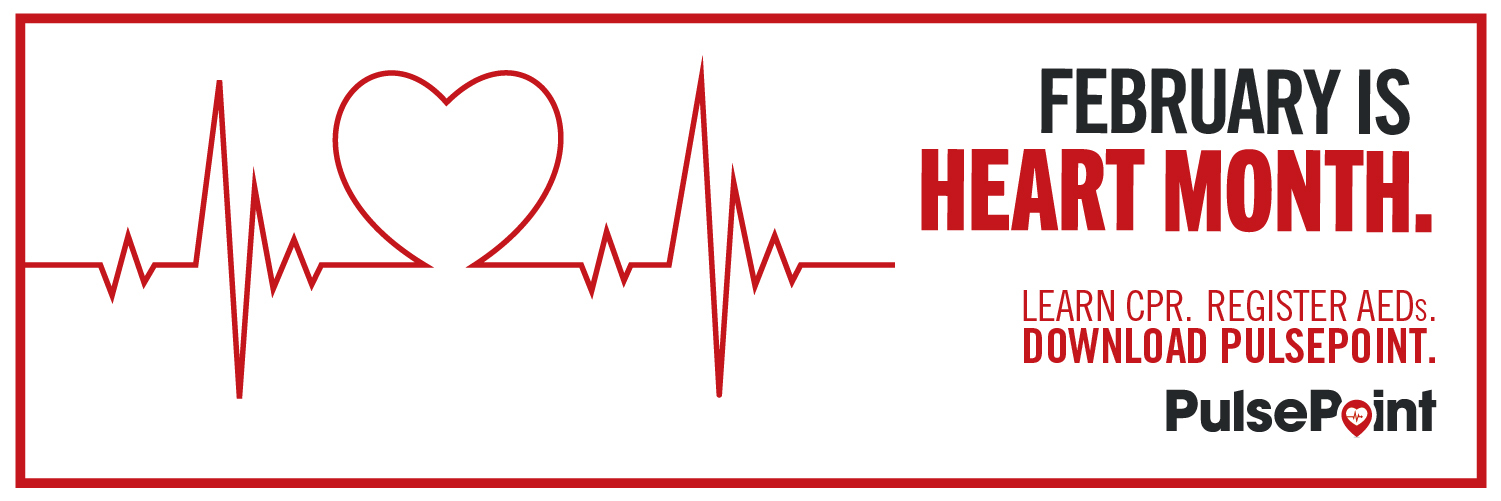 Image of Pulse Point Heart Month Toolkit Email Twitter Header AED Respond