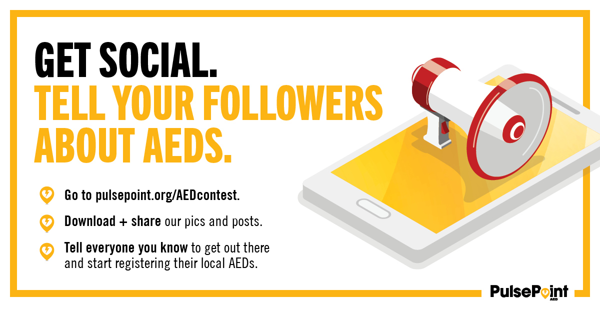PulsePoint AED Awareness Social Media Campaign Asset