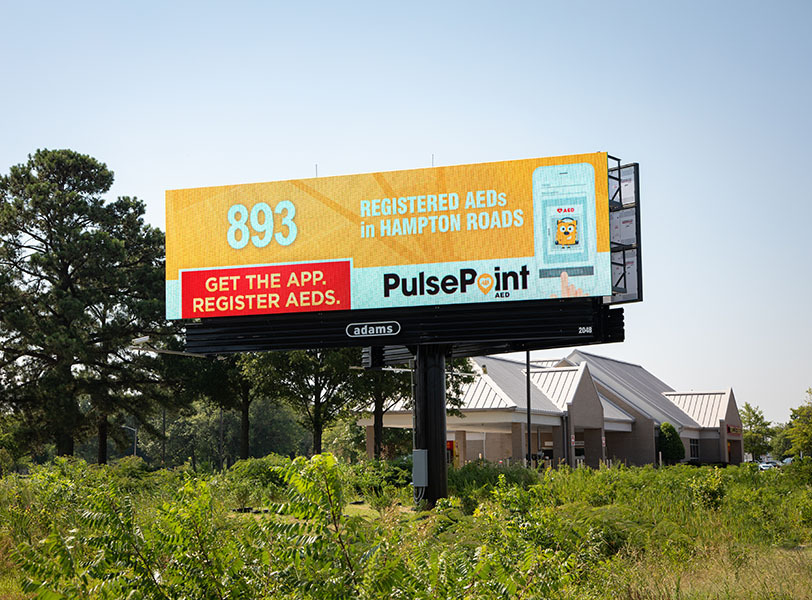PulsePoint AED Billboard