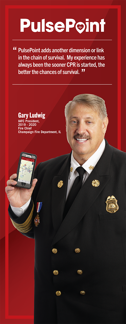 Fire Chief and IAFC Past President Gary Ludwig.