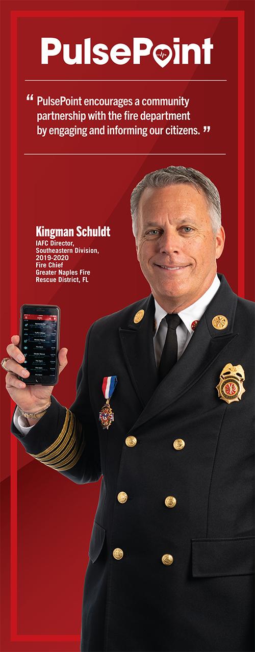 Fire Chief Kingman Schuldt.