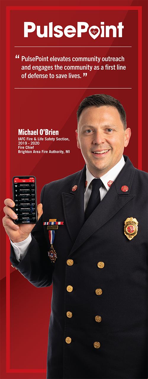 Fire Chief Michael O'Brien.