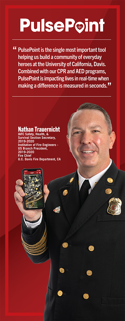Fire Chief Nathan Trauernicht.