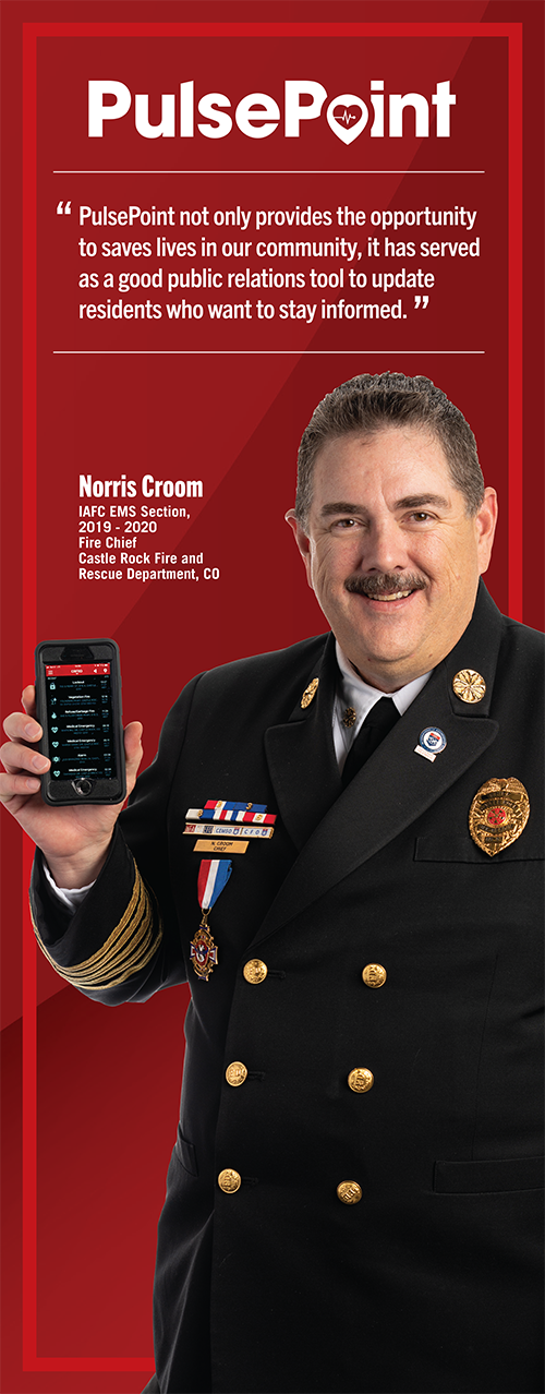 Fire Chief Norris Croom.