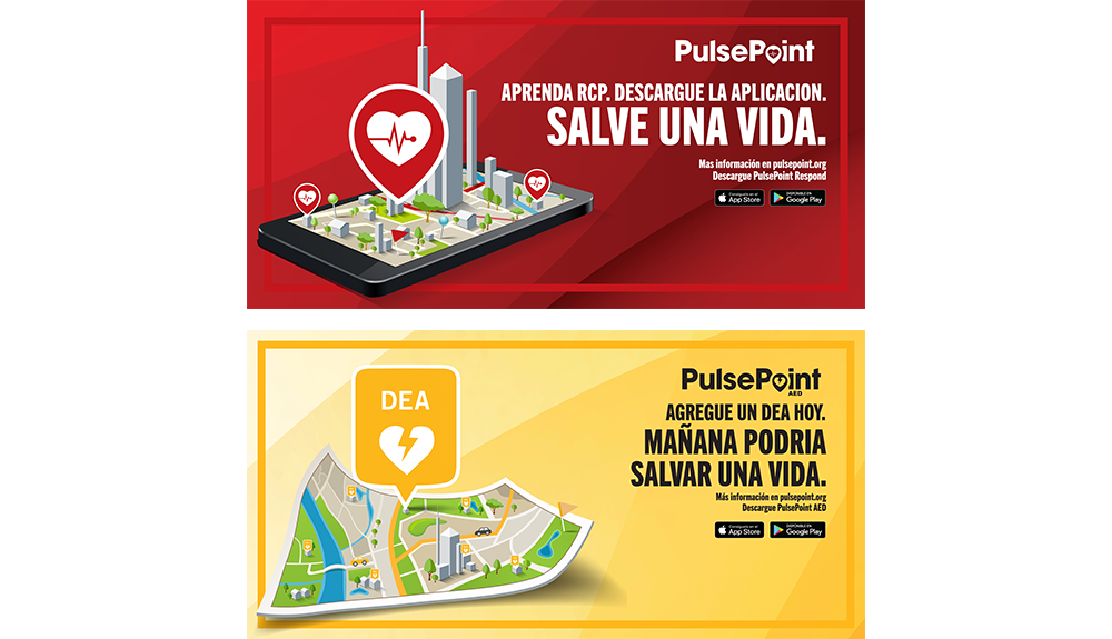 PulsePoint Outreach Banner (Spanish language).