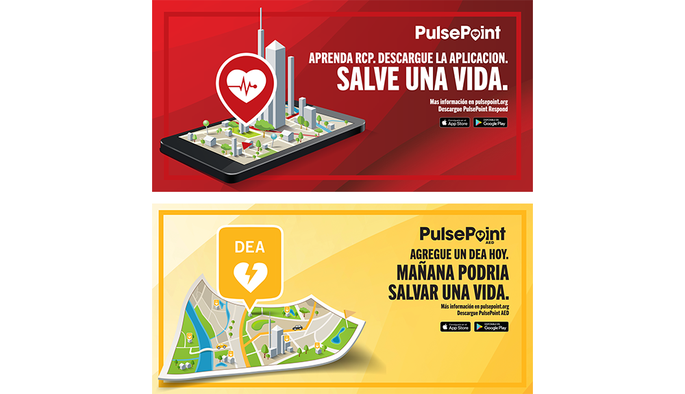PulsePoint Outreach Banner (Spanish language)