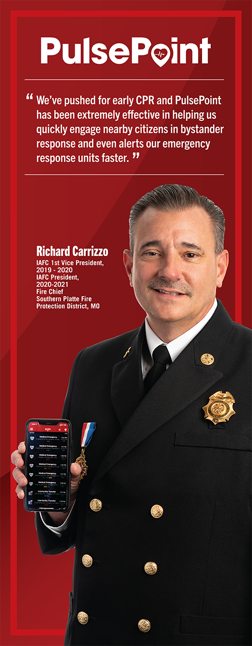 Fire Chief and IAFC President Richard Carrizzo.