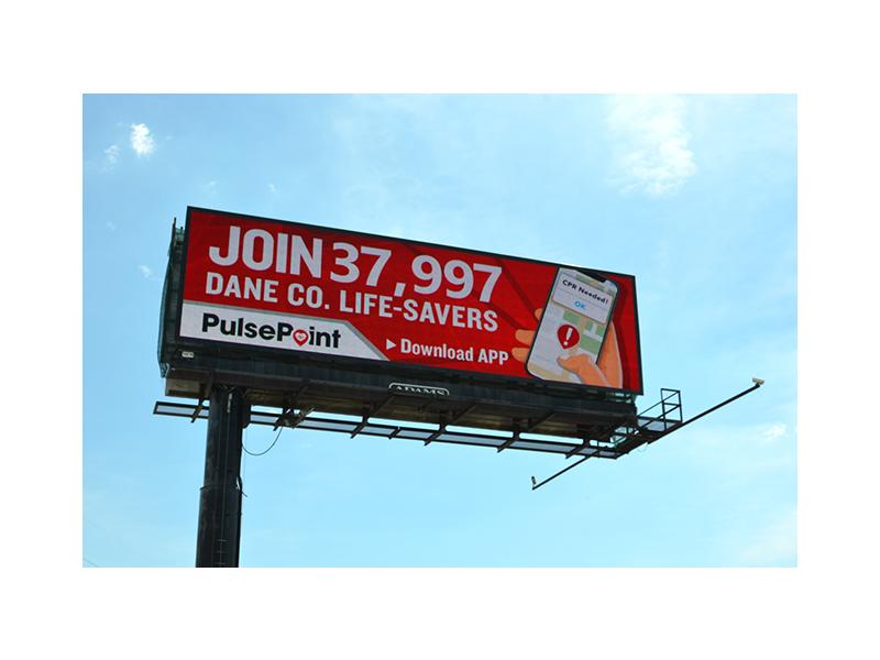 PulsePoint Billboard Respond Dane Co.