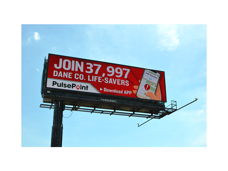 PulsePoint Billboard Respond Dane Co.