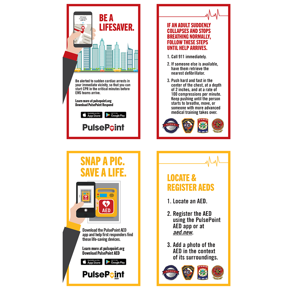 PulsePoint Outreach Biz Cards.