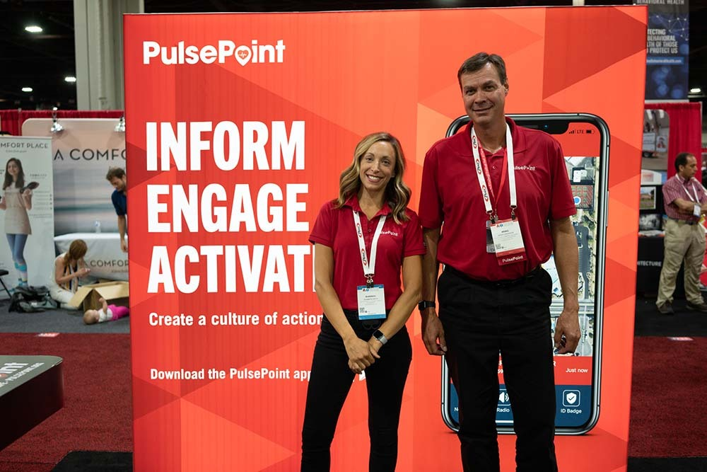 Image of Pulse Point Booth Shannon Kraig FRI2019 1000px