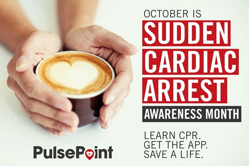 PulsePoint Cardiac Arrest Coffee Social Media Asset.
