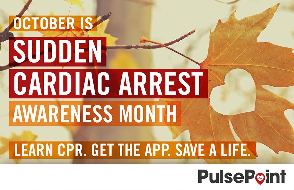 PulsePoint Cardiac Arrest Month Social Media Asset.