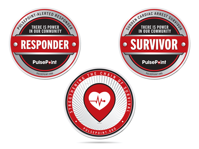 PulsePoint Challenge Coins