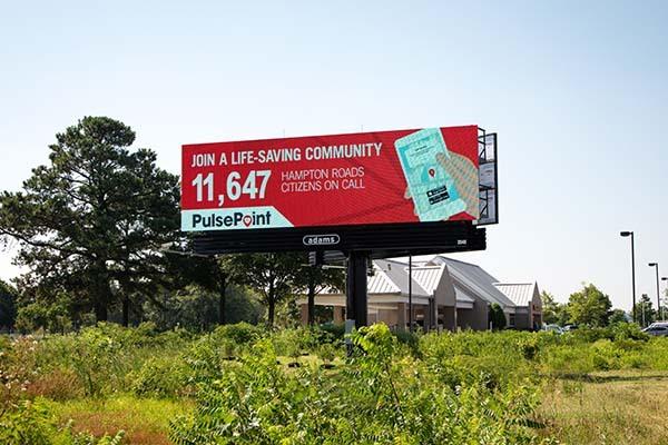 PulsePoint Digital Billboard.