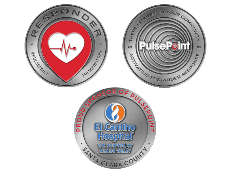 PulsePoint Challenge Coins.