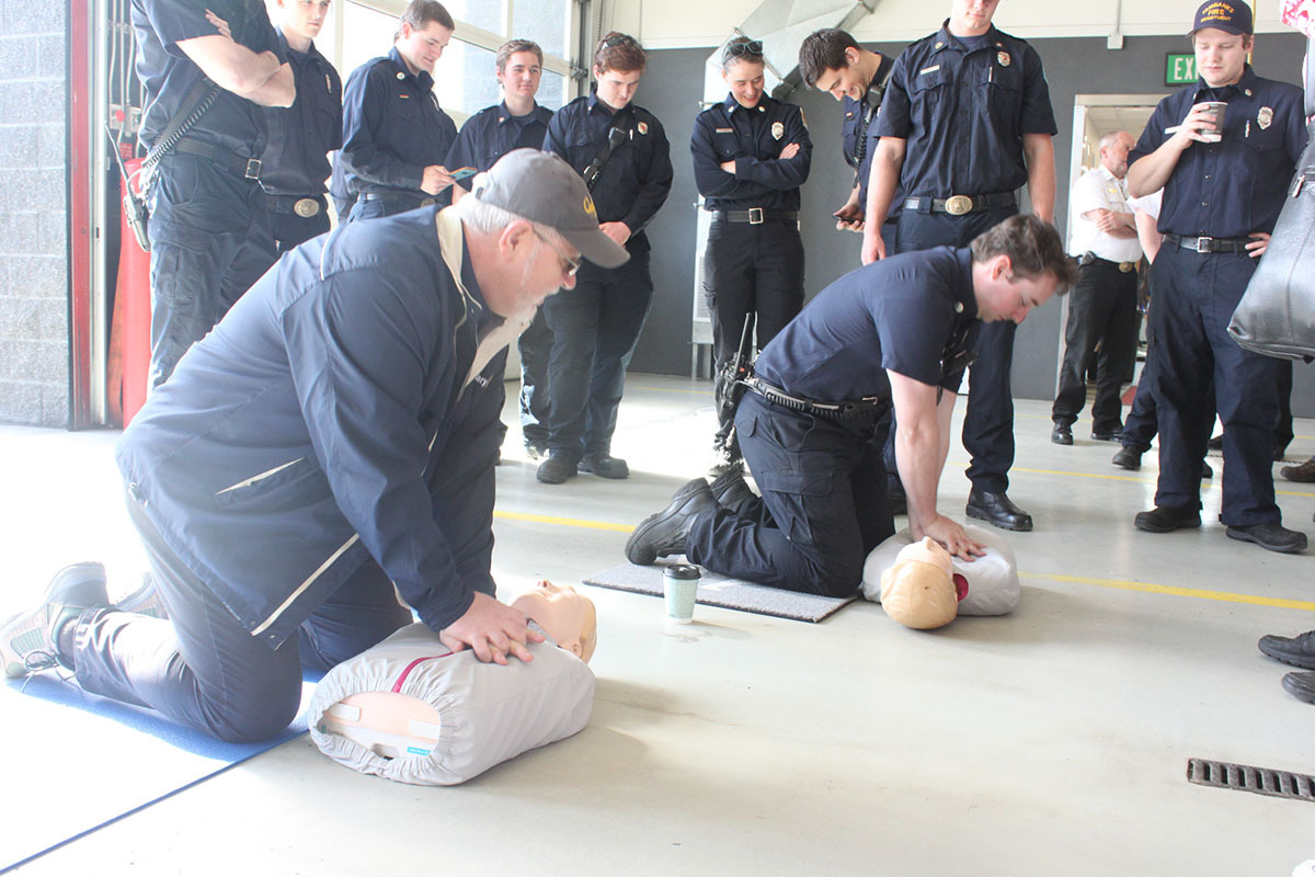 Fairbanks PulsePoint Press Conference CPR Training