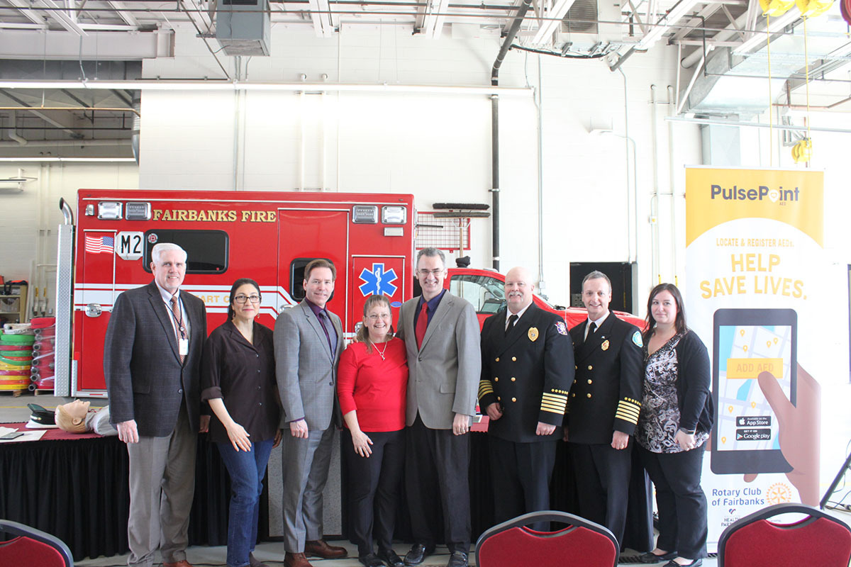 Fairbanks PulsePoint Press Conference