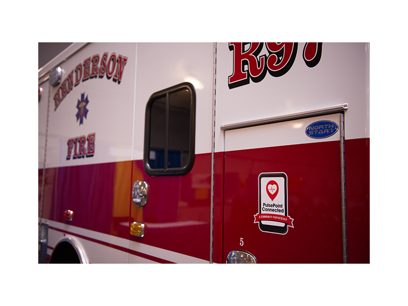PulsePoint Henderson Apparatus Decal.
