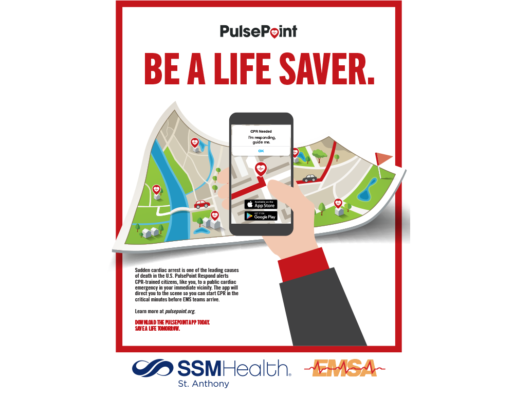 PulsePoint Outreach Poster.