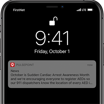 PulsePoint Respond Agency Message AED Contest