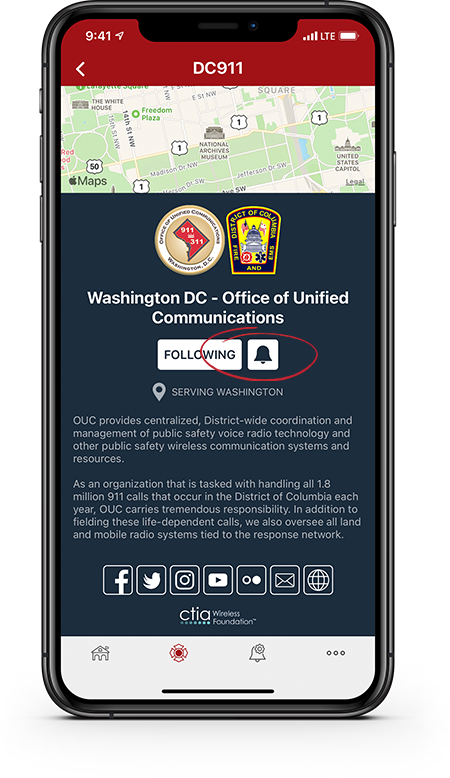 PulsePoint Respond Agency Profile Notification Icon
