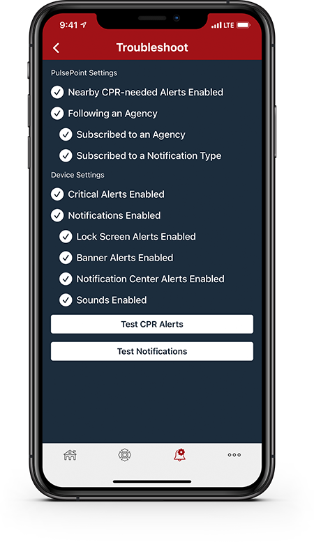 PulsePoint Respond Notifications Troubleshooting
