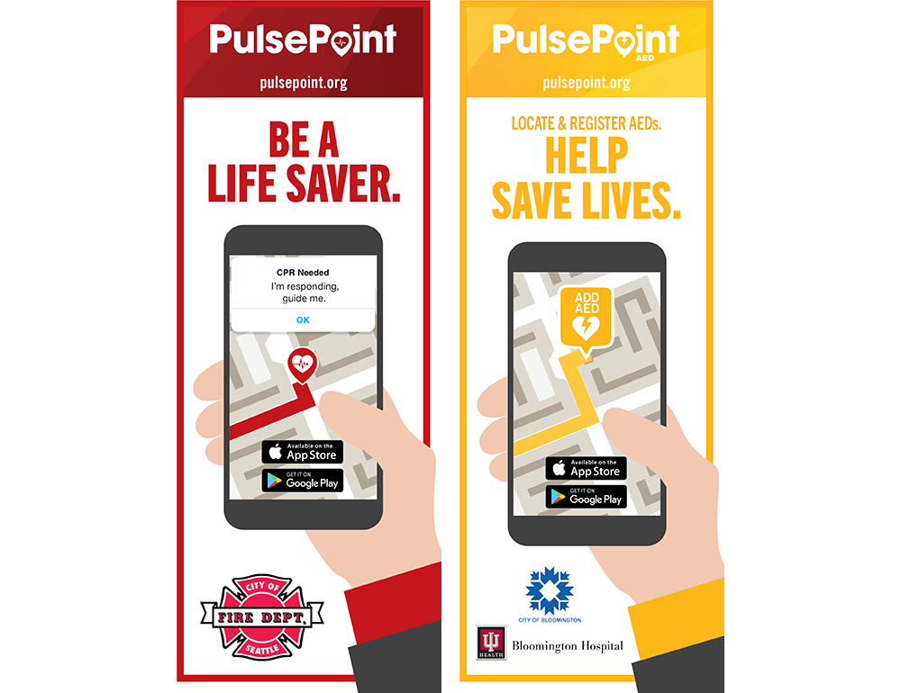 PulsePoint Outreach Retractable Banner.