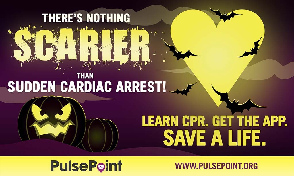 PulsePoint SCAA Month Halloween Social Media Asset.