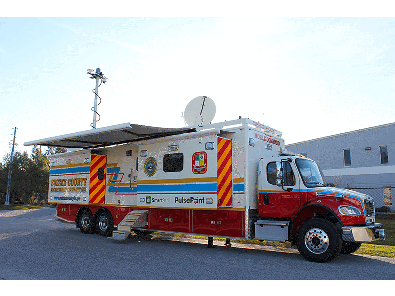 Sussex County Mobile Command Unit