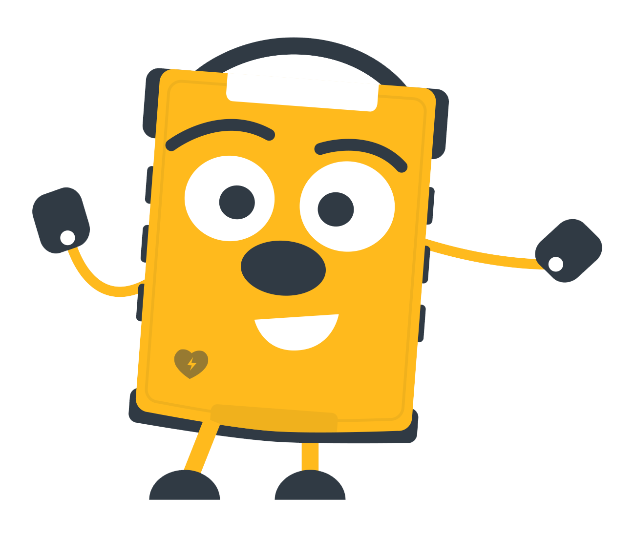 PulsePoint AED character.