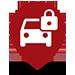 Vehicle Lockout map pin.
